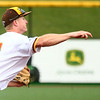 7-27-17<br /> Jackrabbits vs Paints<br /> Ian Walters throws to first.<br /> Kelly Lafferty Gerber | Kokomo Tribune