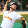 6-28-17<br /> Jackrabbits vs Kings<br /> Dalton Leighty pitches.<br /> Kelly Lafferty Gerber | Kokomo Tribune