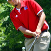 Sectional Golf at Rock Hollow on June 5, 2017. Kokomo's Railey Smith chipping onto the 9th green.<br /> Tim Bath | Kokomo Tribune