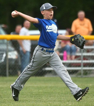 6-16-17<br /> Howard County Minor League Youth Baseball tournament championship<br /> <br /> Kelly Lafferty Gerber   Kokomo Tribune