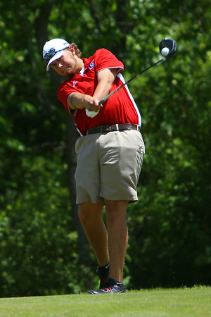 Sectional Golf at Rock Hollow on June 5, 2017. Kokomo's Railey Smith teeing off on the 9th.<br /> Tim Bath | Kokomo Tribune