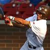 6-28-17<br /> Jackrabbits vs Kings<br /> Alex Del Rio bats.<br /> Kelly Lafferty Gerber | Kokomo Tribune