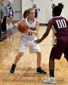 2017 JV Lady Tigers vs Cooper Lady Bulldogs 1-25-18