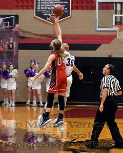 2017 Varsity Lady Tigers vs Pottsboro Lady Cardinals Regional Finals Basketball 2/24/2018