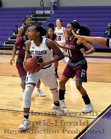 Mount Vernon Varsity Lady Tigers vs  Rockwall Lady Yellowjackets Basketball game photos