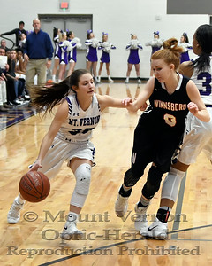 2017 Varsity Lady Tigers vs Winnsboro Lady Raiders 1-30-18