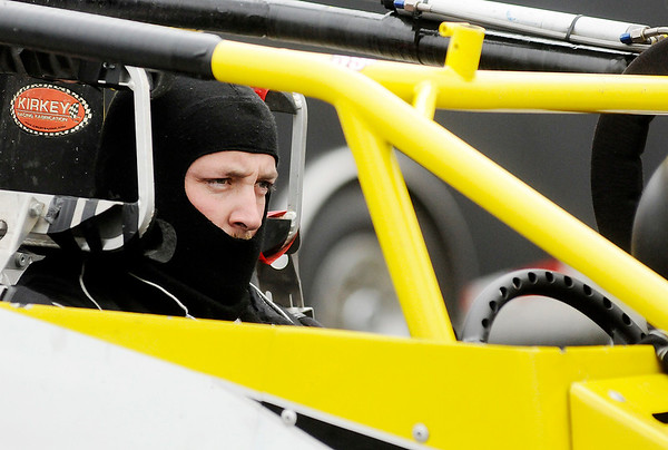 Don Knight   The Herald Bulletin<br /> Little 500 qualifying on Thursday.