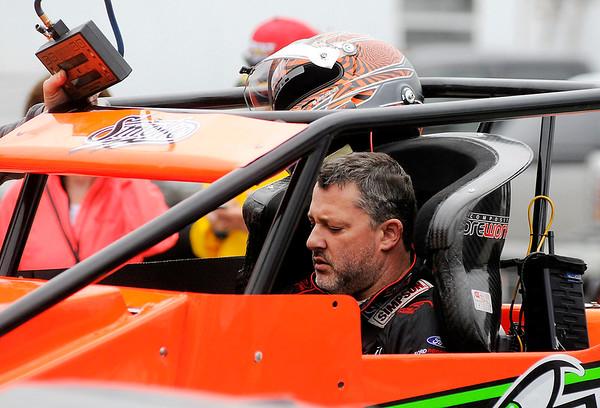 Don Knight | The Herald Bulletin<br /> Little 500 qualifying on Thursday.