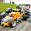 Don Knight | The Herald Bulletin<br /> Last year's winner, Kody Swanson, heads out for a practice run before qualifying for the Little 500 on Thursday.
