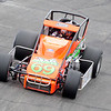 Don Knight | The Herald Bulletin<br /> Tony Stewart qualifies 18th for the Little 500 on Thursday. Qualifying continues today.