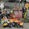 Don Knight | The Herald Bulletin<br /> Tony Stewart makes a pit stop during the Little 500 on Saturday.
