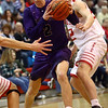 2-28-17<br /> Northwestern vs West Lafayette boys basketball<br /> Collin Hodson goes to the basket.<br /> Kelly Lafferty Gerber | Kokomo Tribune