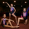 From left: Josie Butler, Addison Sparling, and Lauren Fischer at Kokomo Flipsters on March 8, 2017.<br /> Kelly Lafferty Gerber | Kokomo Tribune