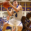 3-11-17<br /> Tipton vs New Haven boys basketball regional semifinal<br /> Tipton's Lukas Swan shoots.<br /> Kelly Lafferty Gerber | Kokomo Tribune