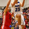 3-11-17<br /> Tipton vs FW Luers regional championship. Tipton lost 54-50 in double overtime.<br /> Tipton's Sam Gutierrez goes to the basket.<br /> Kelly Lafferty Gerber | Kokomo Tribune