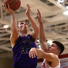 2-28-17<br /> Northwestern vs West Lafayette boys basketball<br /> NW's Noah Dowden shoots.<br /> Kelly Lafferty Gerber | Kokomo Tribune