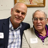 Joel and Richard Cardwell at the Northwestern High School Hall of Fame induction ceremony on March 10, 2017.<br /> Kelly Lafferty Gerber | Kokomo Tribune