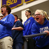 3-11-17<br /> Tipton vs FW Luers regional championship. Tipton lost 54-50 in double overtime.<br /> The Tipton student section screams to try and distract the FW Luers as they shoot a free throw.<br /> Kelly Lafferty Gerber | Kokomo Tribune