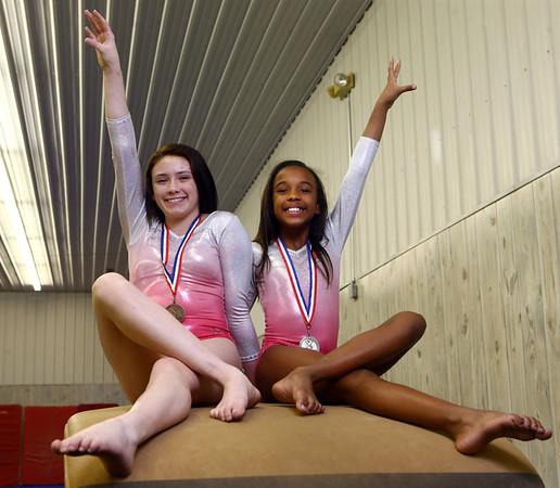 Catie Smith, left, and Molly Ungerer of Kokomotion<br /> Kelly Lafferty Gerber | Kokomo Tribune