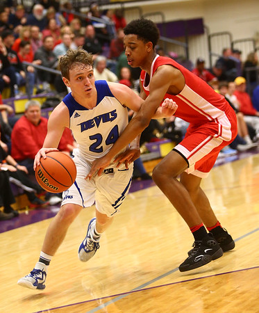 3-11-17<br /> Tipton vs FW Luers regional championship. Tipton lost 54-50 in double overtime.<br /> <br /> Kelly Lafferty Gerber | Kokomo Tribune