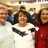 From left: Diana Criss, Debbie Breisch, and Nancy Neff at the Northwestern High School Hall of Fame induction ceremony on March 10, 2017.<br /> Kelly Lafferty Gerber | Kokomo Tribune