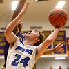 3-11-17<br /> Tipton vs New Haven boys basketball regional semifinal<br /> Tipton's Carson Dolezal shoots.<br /> Kelly Lafferty Gerber | Kokomo Tribune