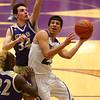 3-11-17<br /> Tipton vs New Haven boys basketball regional semifinal<br /> Tipton's Sam Gutierrez shoots.<br /> Kelly Lafferty Gerber | Kokomo Tribune