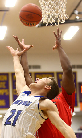 3-11-17<br /> Tipton vs FW Luers regional championship. Tipton lost 54-50 in double overtime.<br /> Tipton's Tyler Slack goes after a rebound.<br /> Kelly Lafferty Gerber | Kokomo Tribune