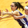 3-9-17<br /> 8th grade girls basketball<br /> NW's Layla Kinnaman and Kokomo Red's Madison Collins go after a loose ball.<br /> Kelly Lafferty Gerber | Kokomo Tribune