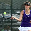 5-17-17<br /> Girls tennis sectional<br /> Northwestern 1 singles Madison Layden<br /> Kelly Lafferty Gerber | Kokomo Tribune
