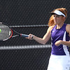 5-19-17<br /> Girls tennis sectional championship<br /> Northwestern 2 doubles Klair Merrell<br /> Kelly Lafferty Gerber | Kokomo Tribune