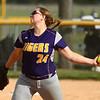 5-23-17<br /> Northwestern vs Western softball<br /> NW's Crystal Metz pitches.<br /> Kelly Lafferty Gerber | Kokomo Tribune