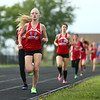 5-11-17<br /> Kokomo track and field<br /> Maya James in the 800.<br /> Kelly Lafferty Gerber | Kokomo Tribune