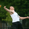 5-25-17<br /> Boys track and field regional<br /> Western's Tyler Gilbert in discus<br /> Kelly Lafferty Gerber | Kokomo Tribune
