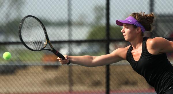 5-17-17<br /> Girls tennis sectional<br /> Northwestern 2 singles Allison Miller<br /> Kelly Lafferty Gerber | Kokomo Tribune