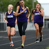 5-3-17<br /> WHS vs NWHS track<br /> NW's Kate Bilkey in the 1600.<br /> Kelly Lafferty Gerber | Kokomo Tribune