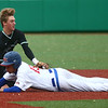 5-2-17<br /> Kokomo vs Zionsville baseball<br /> Zionsville's Michael Rocco tags Kokomo's Perry McCullum out as he slides to second.<br /> Kelly Lafferty Gerber | Kokomo Tribune