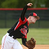 5-6-17<br /> Taylor vs TC baseball<br /> Caleb Murdock pitches.<br /> Kelly Lafferty Gerber | Kokomo Tribune