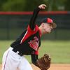 5-6-17<br /> Taylor vs TC baseball<br /> Caleb Murdock pitches.<br /> Kelly Lafferty Gerber | Kokomo Tribune