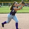 5-30-17<br /> Northwestern vs South Bend Saint Joseph<br /> Sophia Beachy makes the catch for an out.<br /> Kelly Lafferty Gerber | Kokomo Tribune