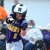 5-30-17<br /> Northwestern vs South Bend Saint Joseph<br /> Bailey Thatcher bats.<br /> Kelly Lafferty Gerber | Kokomo Tribune