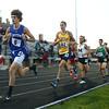 5-25-17<br /> Boys track and field regional<br /> Caston's Mitchell Rans in the 3200.<br /> Kelly Lafferty Gerber   Kokomo Tribune