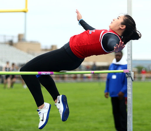 5-11-17<br /> Kokomo track and field<br /> Lana Pham in the high jump.<br /> Kelly Lafferty Gerber | Kokomo Tribune