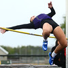 5-3-17<br /> WHS vs NWHS track<br /> NW's Rachel Mast in the high jump.<br /> Kelly Lafferty Gerber | Kokomo Tribune