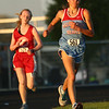 5-16-17<br /> Girls track sectional<br /> Maconaquah's Madison Winegardner in the 3200.<br /> Kelly Lafferty Gerber | Kokomo Tribune