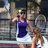 5-19-17<br /> Girls tennis sectional championship<br /> Northwestern 1 doubles Lauren Miller<br /> Kelly Lafferty Gerber | Kokomo Tribune