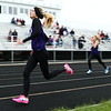 5-3-17<br /> WHS vs NWHS track<br /> NW's Kaylee Watson in the 400 dash.<br /> Kelly Lafferty Gerber | Kokomo Tribune