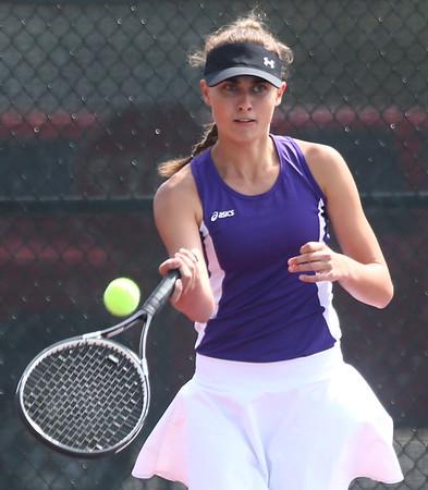 5-19-17<br /> Girls tennis sectional championship<br /> Northwestern 1 Madison Layden<br /> Kelly Lafferty Gerber | Kokomo Tribune