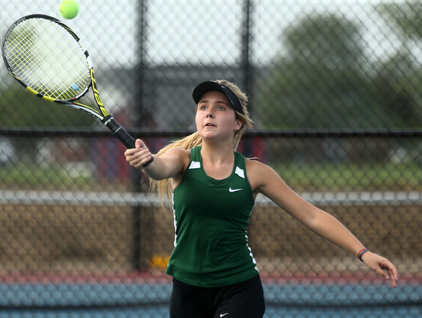 5-17-17<br /> Girls tennis sectional<br /> Eastern 2 singles Casey Clark<br /> Kelly Lafferty Gerber | Kokomo Tribune