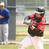 5-6-17<br /> Taylor vs TC baseball<br /> Peyton Kellerman bats.<br /> Kelly Lafferty Gerber | Kokomo Tribune